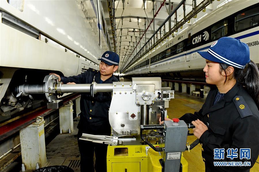 (新春走基層)(6)福建鐵路部門:保安全  迎春運