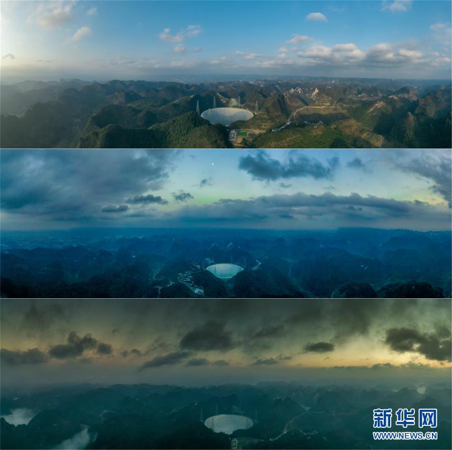 """(新华全媒头条·图文互动)(2)星辰大海,才是它的征途——""""中国天眼""""通过国家验收正式开放运行"""