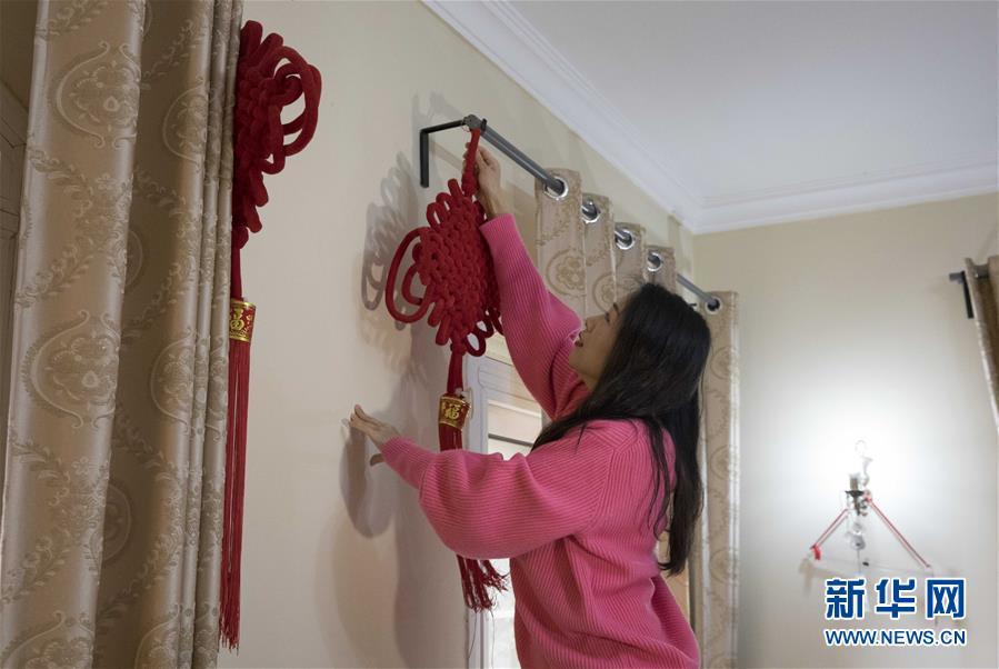 (國際·圖文互動)(1)一位中國漢語老師在埃及的第八個春節