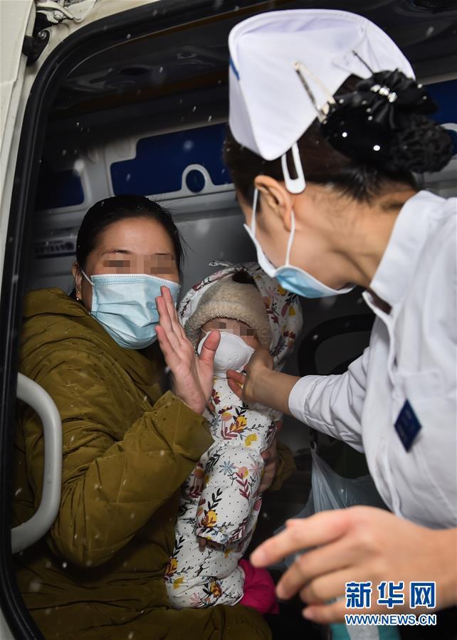 """(聚焦疫情防控·圖文互動)(1)""""等奇奇長大了,一定帶她再來北京""""——北京9個月患兒出院記"""