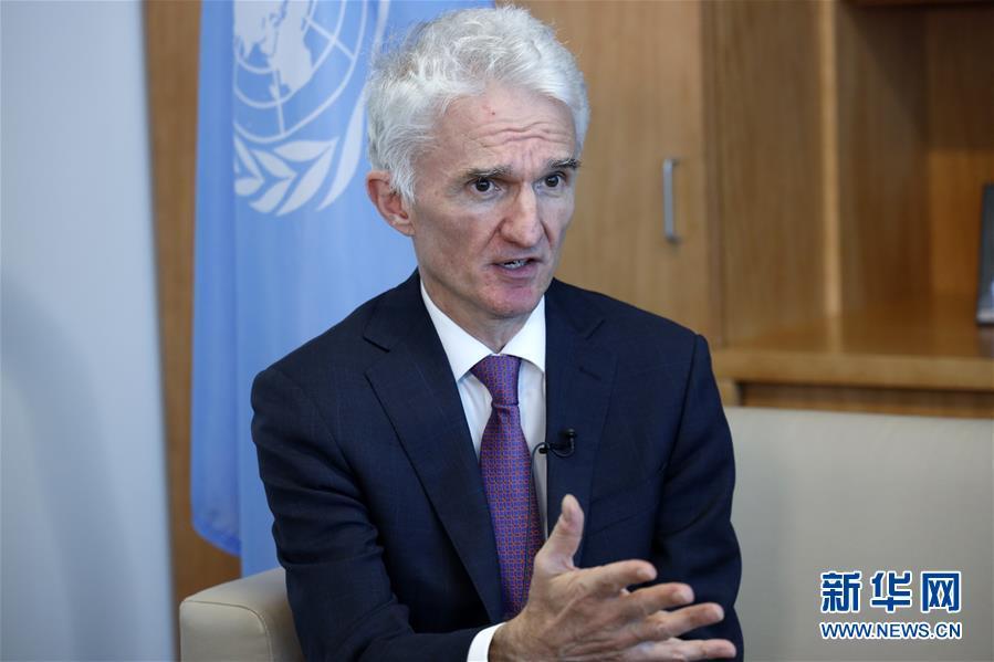 (國際·圖文互動)專訪:中國採取非凡舉措抗擊新冠病毒——訪聯合國副秘書長洛科克