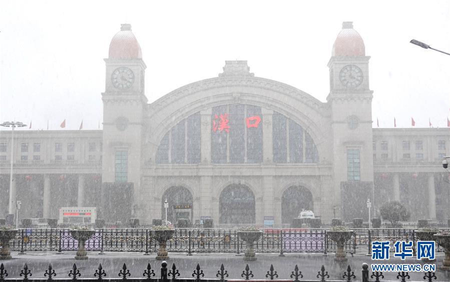 (聚焦疫情防控)(3)武漢迎來雨雪降溫天氣
