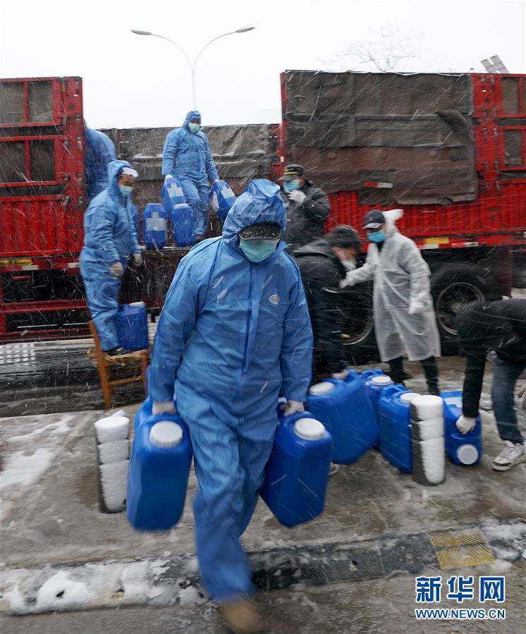 (聚焦疫情防控)(1)武漢迎來雨雪降溫天氣