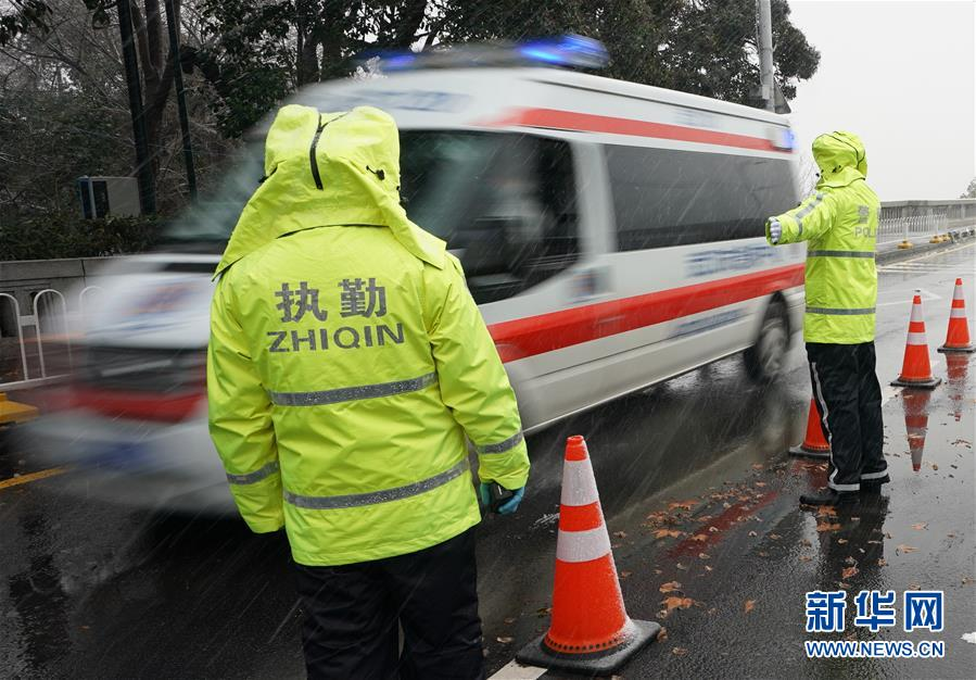 (聚焦疫情防控)(9)武漢迎來雨雪降溫天氣