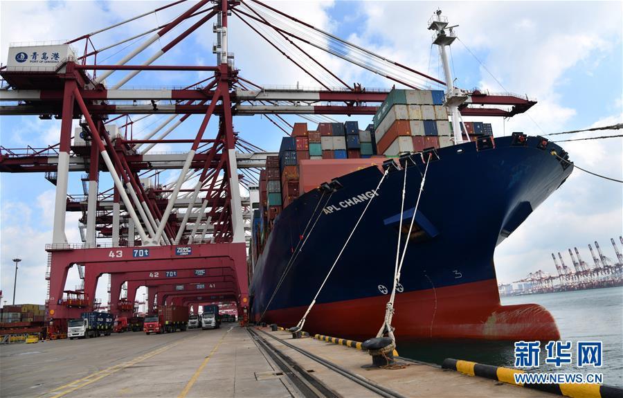 (圖文互動)(4)海港轉運不停歇 整體運能待釋放——沿海主要港口生産見聞