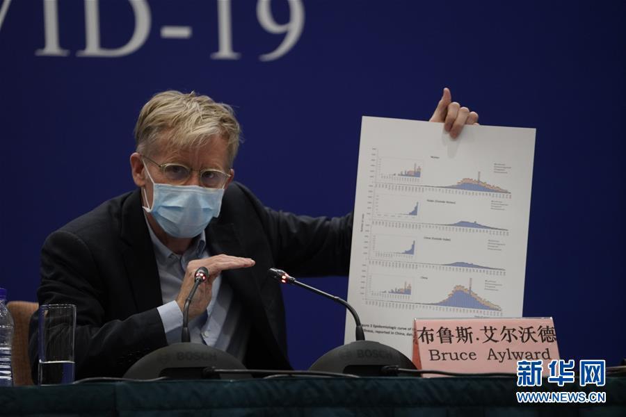 (聚焦疫情防控)(2)中国—世界卫生龙虎大战组织 新冠肺炎联合专家考察组举行新闻发布会
