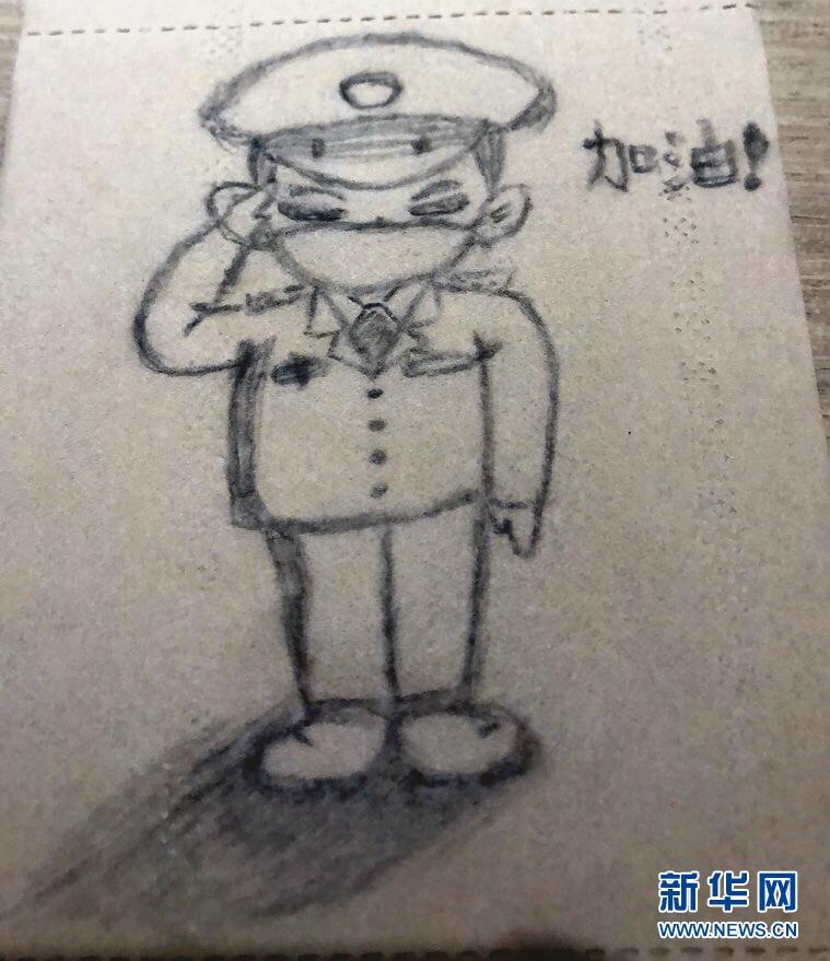 """(聚焦疫情防控・图文互动)(2)""""画""""浅情深:一线护士手绘战""""疫""""点滴"""