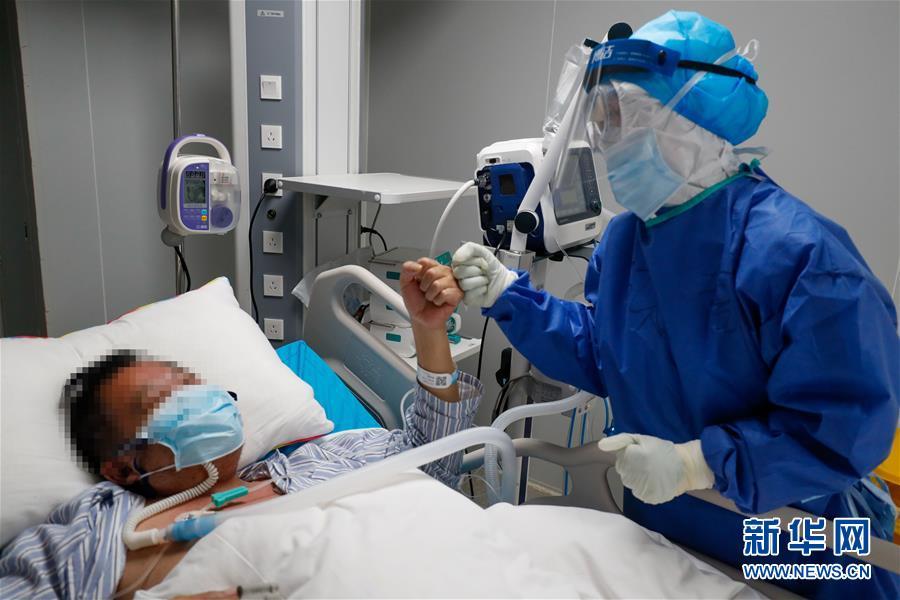 (一線抗疫群英譜·圖文互動)(3)嫻靜少言 不慕榮利——記火神山醫院重症醫學一科護士長陳靜