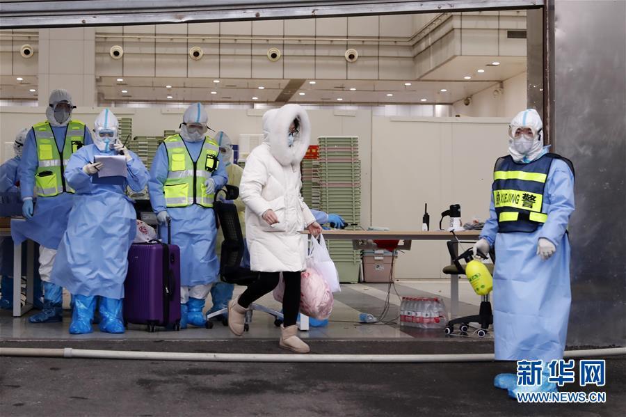(聚焦疫情防控)(1)武汉累计收治人数.多的方舱医院正式休舱