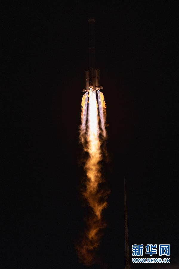 (科技)(2)我国成功发射第54颗北斗导航卫星 5月将完成全球星座部署