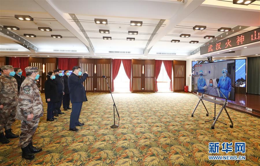 (時政)(1)習近平在湖北省考察新冠肺炎疫情防控工作