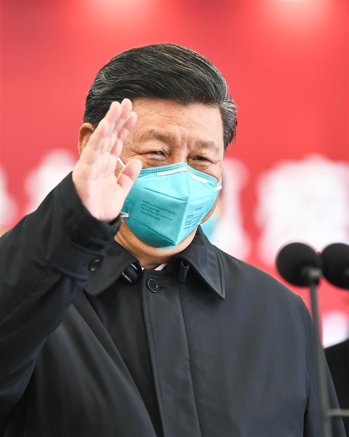 (時政)(11)習近平在湖北省考察新冠肺炎疫情防控工作