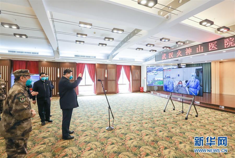 (時政)(12)習近平在湖北省考察新冠肺炎疫情防控工作