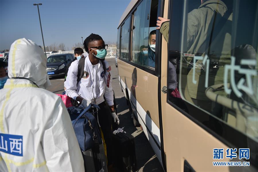 (聚焦疫情防控)(5)北京新国展入境人员转运集散地见闻