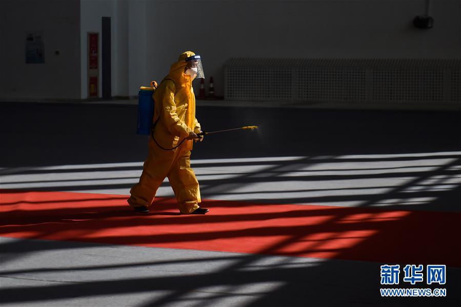 (聚焦疫情防控)(4)北京新国展入境人员转运集散地见闻