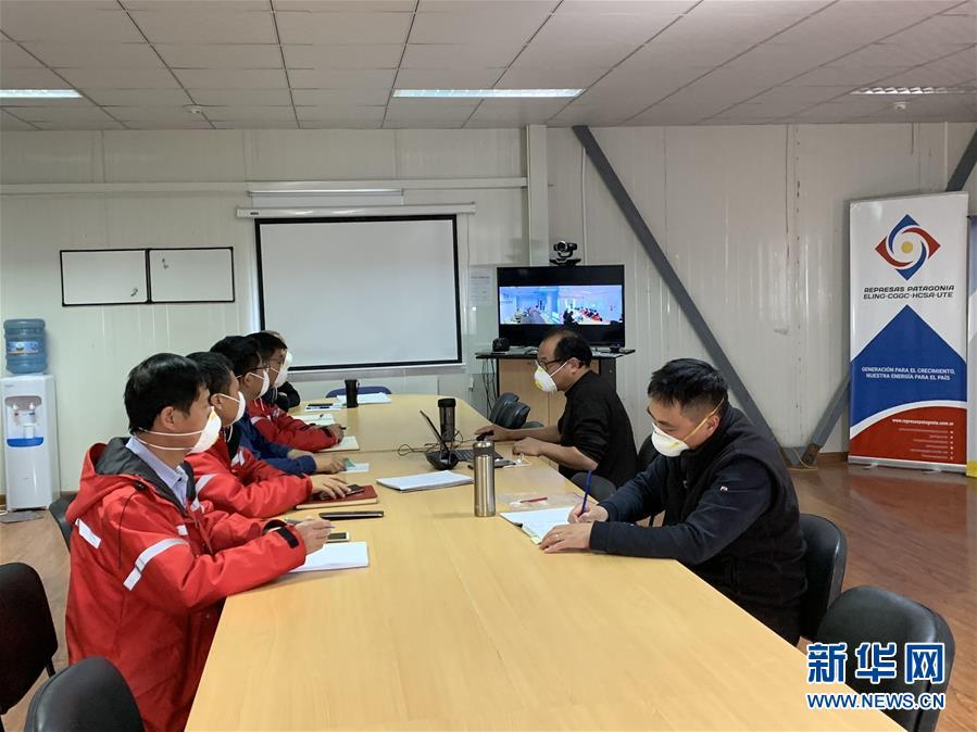 """(国际疫情· 图文互动)(3)记者手记:中国湖北企业与阿根廷携手防""""疫"""""""