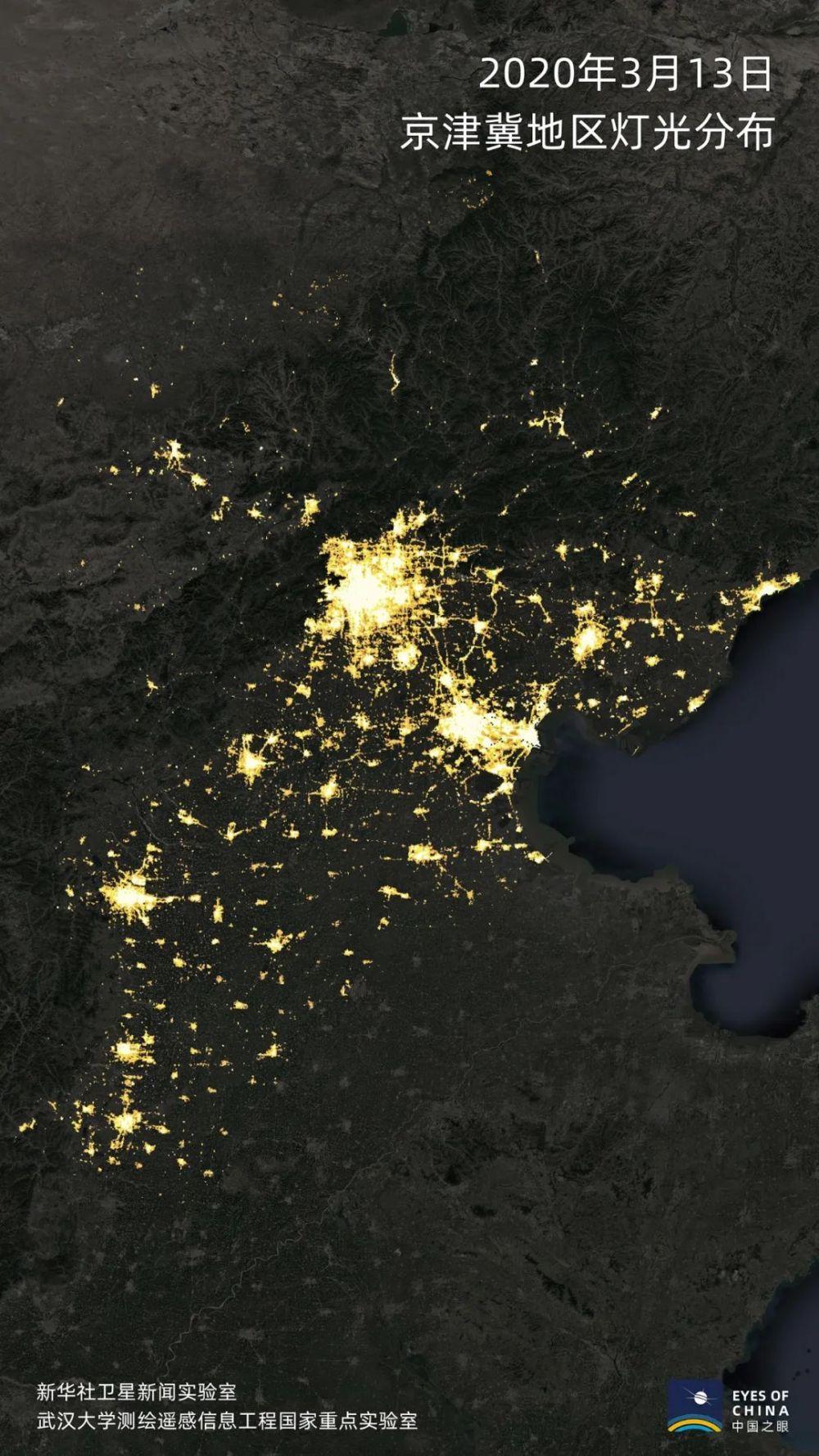 卫星发现一个信号:中国正在亮起来