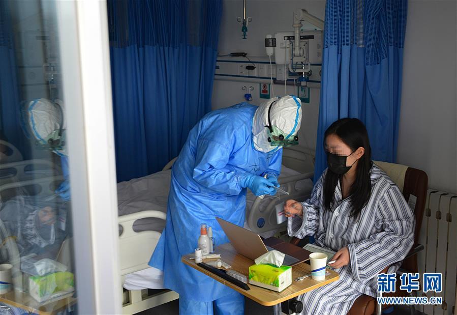 (聚焦疫情防控·圖文互動)(1)運行平穩、治療有序、注重關懷——探訪北京小湯山定點醫院