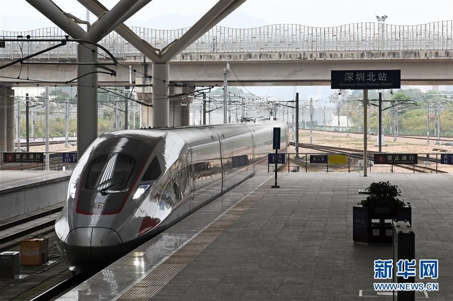 (聚焦疫情防控)(4)深圳往返武汉高铁开始恢复正常