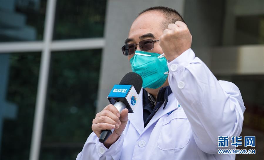 (聚焦疫情防控·图文互动)(1)团结起来!我们万众一心!——中国抗疫人民力量的生动实践