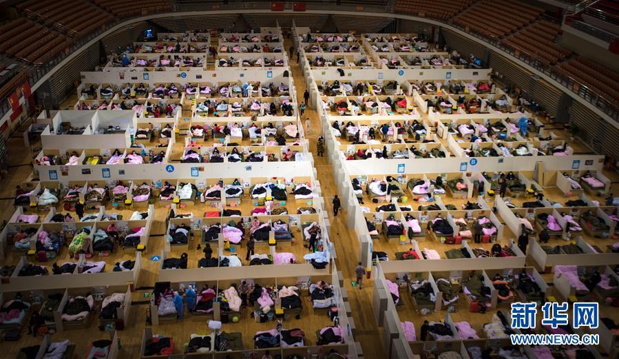 (聚焦疫情防控·图文互动)(4)团结起来!我们万众一心!——中国抗疫人民力量的生动实践