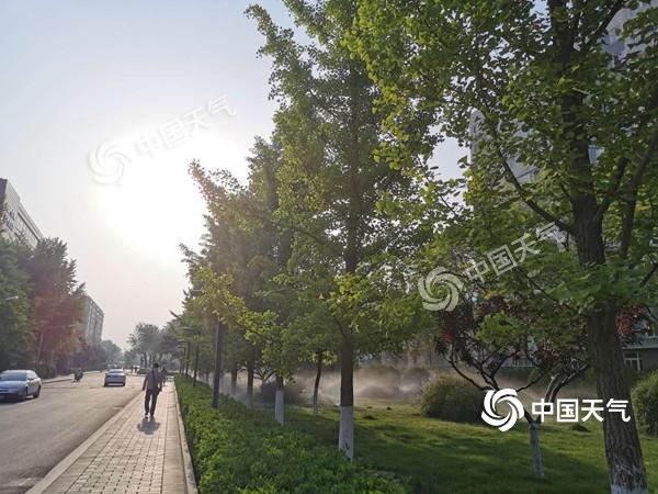 """今日北京冲击31℃将创今年新高 天干物燥 注意用火安全 防患于未""""燃"""""""