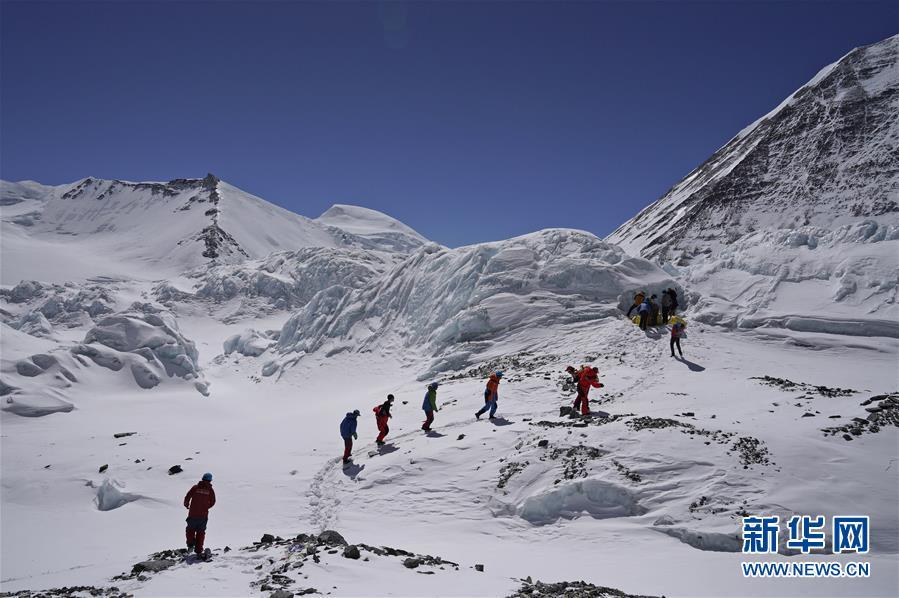 (2020珠峰高程測量)(2)2020珠峰高程測量登頂測量日期推後
