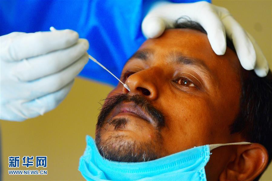 (國際疫情)(1)印度新冠確診病例突破7萬例
