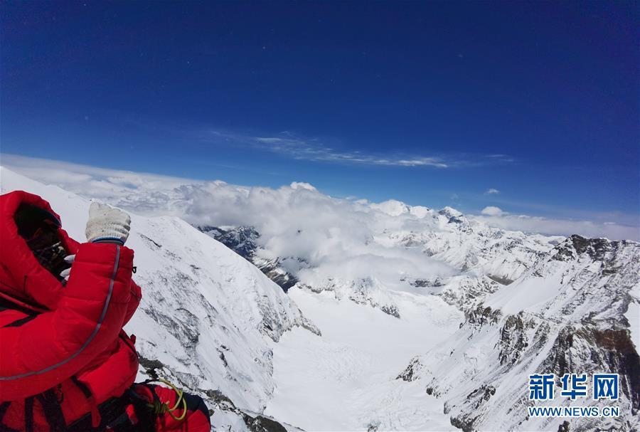 (2020珠峰高程测量)(1)受天气影响 至珠峰峰顶攀登路线未修通