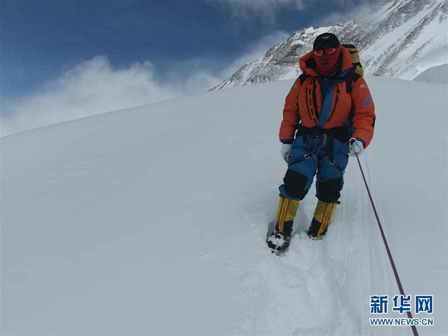 (2020珠峰高程测量)(4)受天气影响 至珠峰峰顶攀登路线未修通