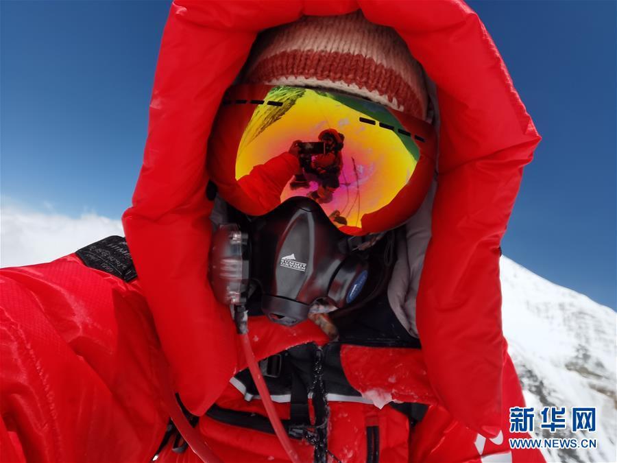 (2020珠峰高程测量)(6)受天气影响 至珠峰峰顶攀登路线未修通