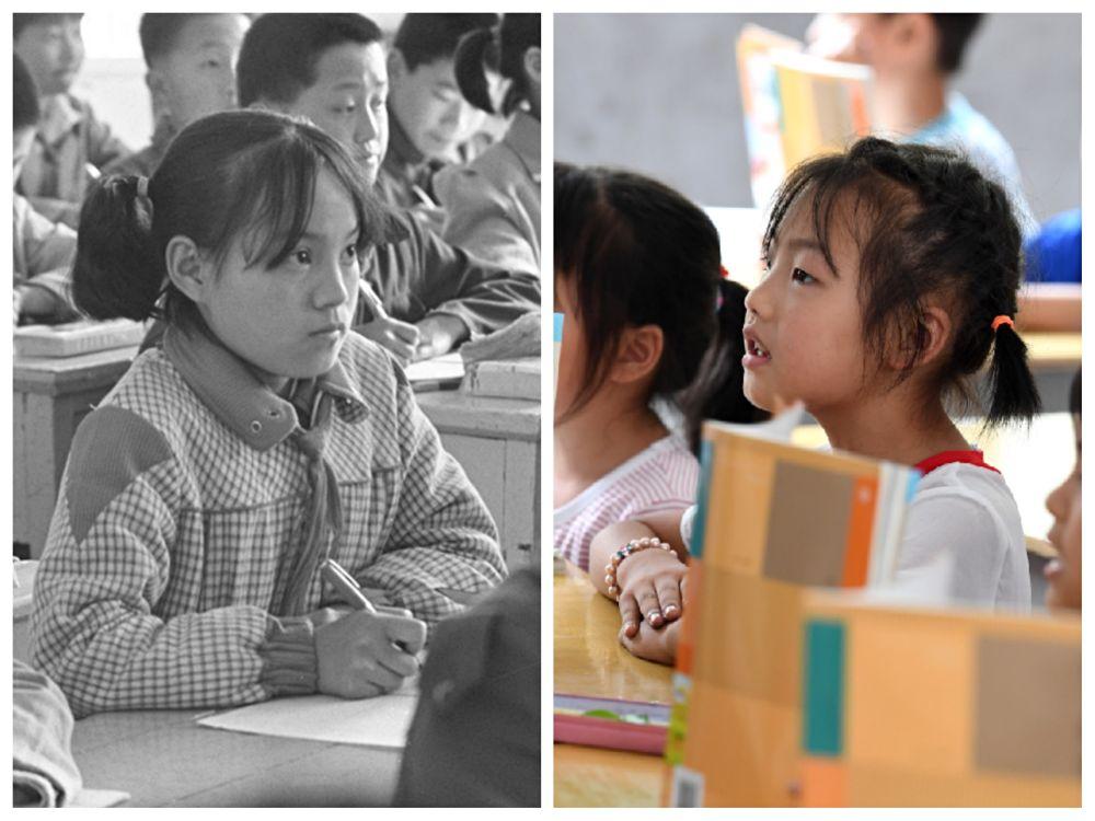 今天,中国第一所希望小学30岁了!