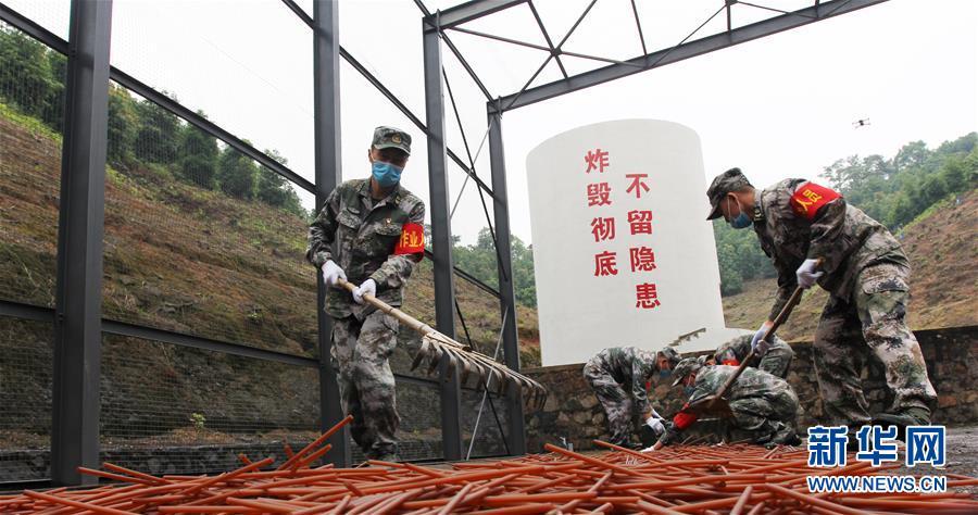 (圖文互動)(2)聯保部隊首次組織報廢武器彈藥調運銷毀業務集訓