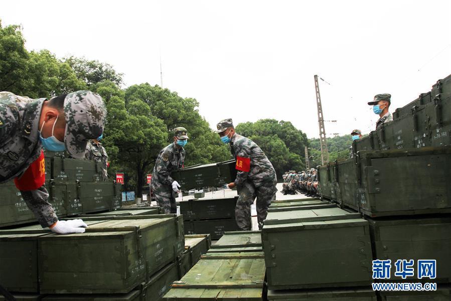 (圖文互動)(4)聯保部隊首次組織報廢武器彈藥調運銷毀業務集訓