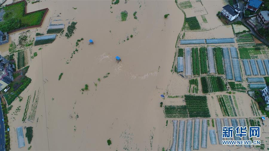 (生态)(2)江西遭遇强降雨 紧急启动救灾应急响应