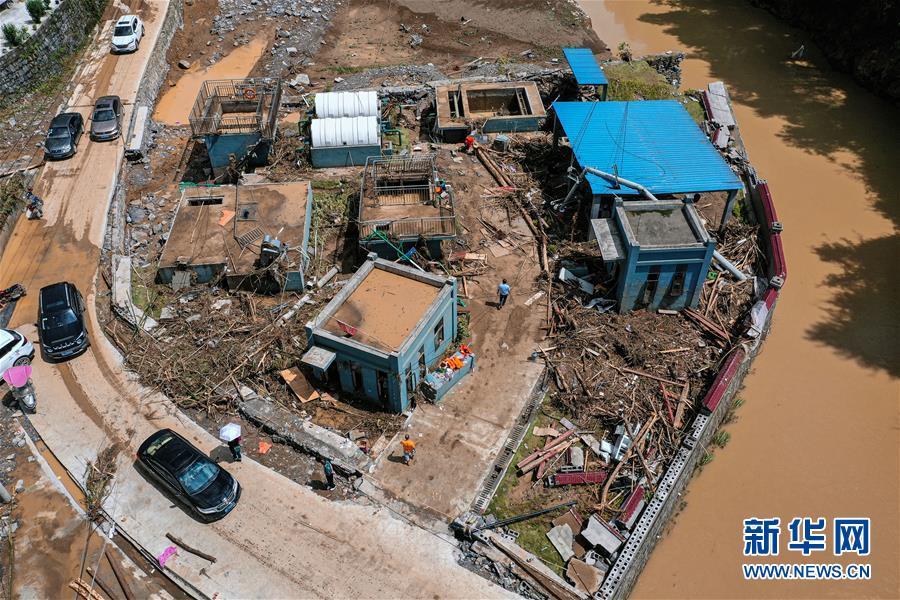 (社會)(2)探訪貴州暴雨受災區正安縣碧峰鎮