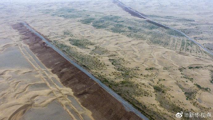 孙国吉:携手防沙止漠 共护绿水青山