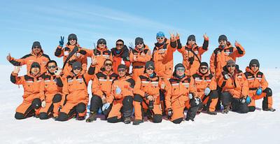 访南极科学考察队队员:夏至,我们在南极越冬