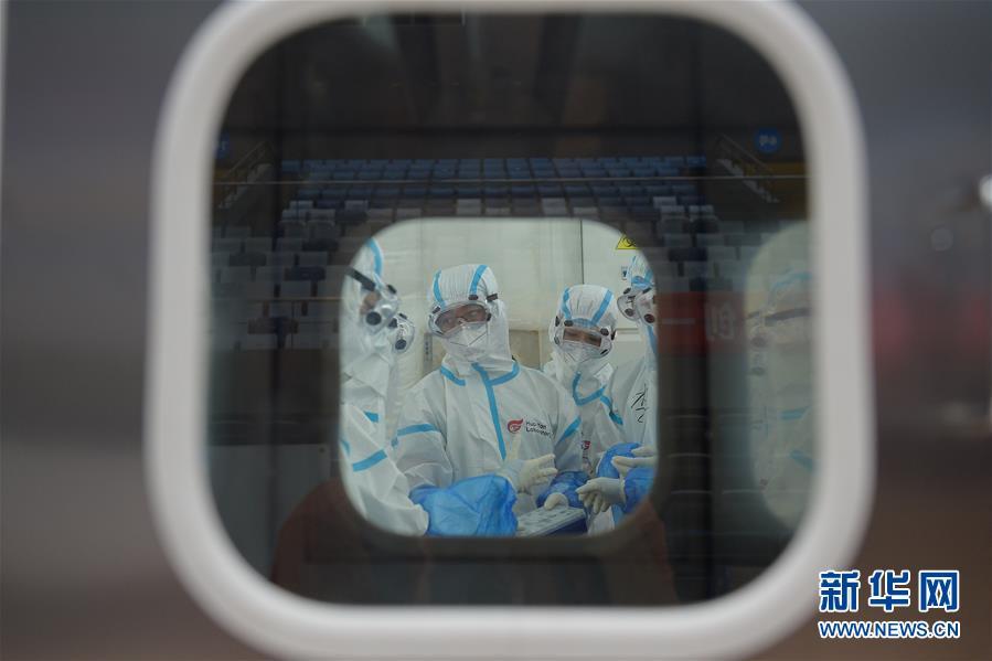 """(聚焦疫情防控)(11)探訪北京首座氣膜版""""火眼""""核酸檢測實驗室"""