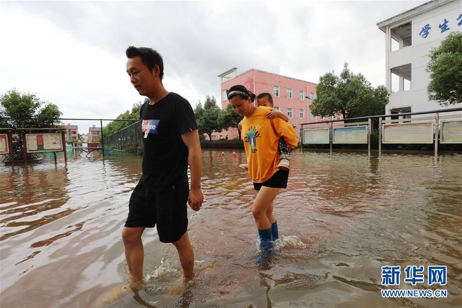 (新华全媒头条·图文互动)(9)把确保人民生命安全放在第一位——聚焦当前我国防汛救灾工作