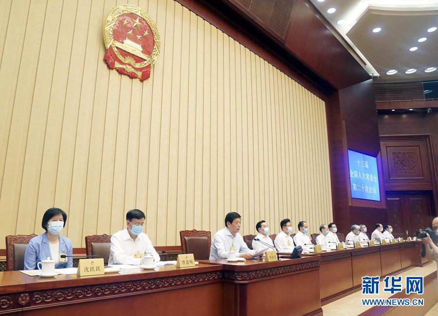 全国人大常委会通过香港特别行政区维护国家安全法