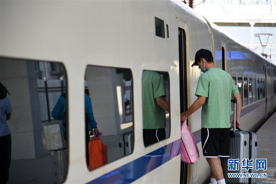 (社會)(2)2020年鐵路暑運拉開帷幕