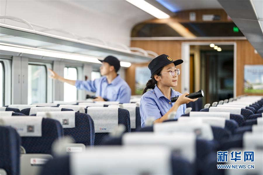 (社會)(3)重慶:列車檢修迎暑運