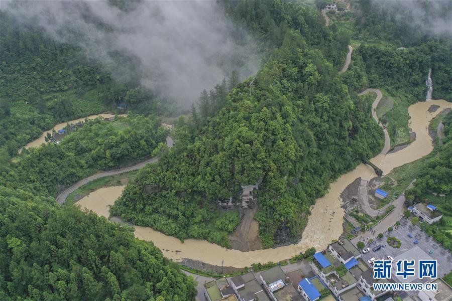 (社會)(2)重慶黔江遭遇新一輪強降雨天氣