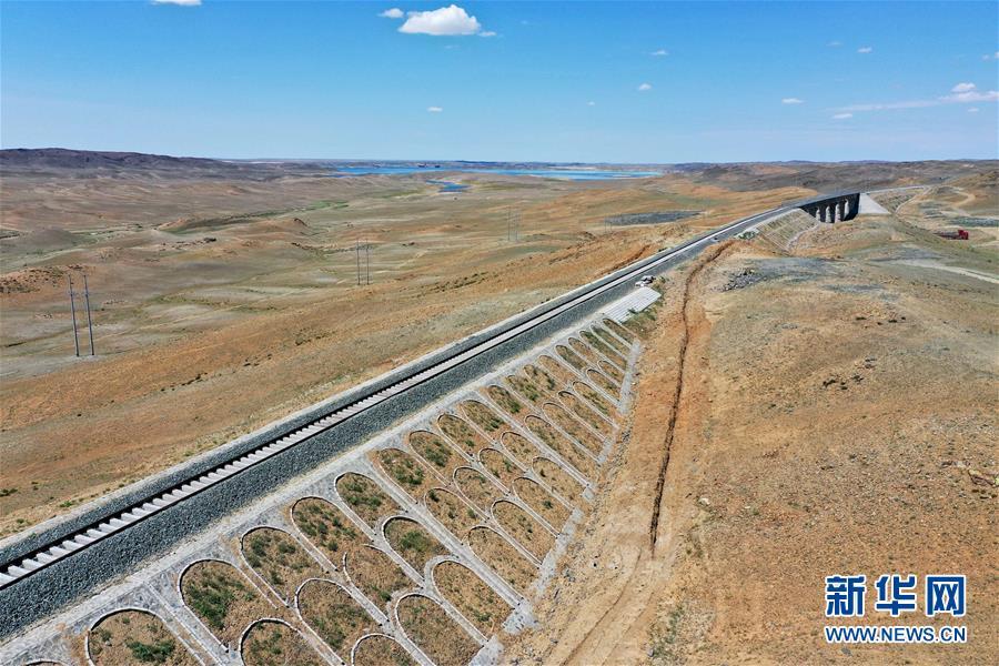 (經濟)(2)阿富準鐵路鋪軌全線貫通 北疆鐵路環線正式形成