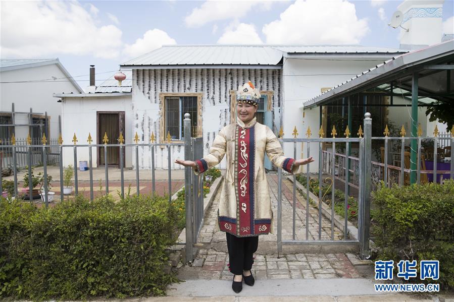 (新華全媒頭條·走向我們的小康生活·圖文互動)(9)迎著東升的紅日——走向小康之路的赫哲族