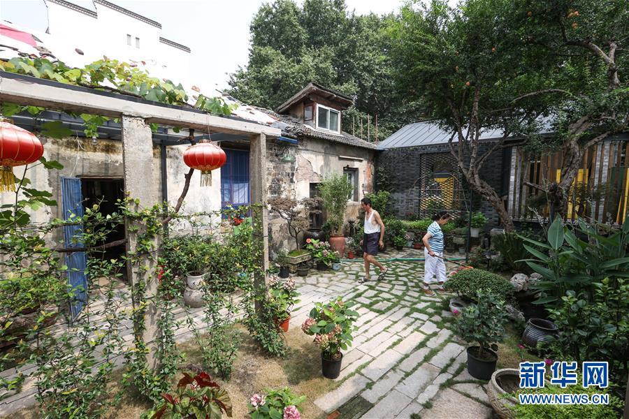 (走向我們的小康生活·圖文互動)(12)古都老街重生記——南京老城南的小康願景