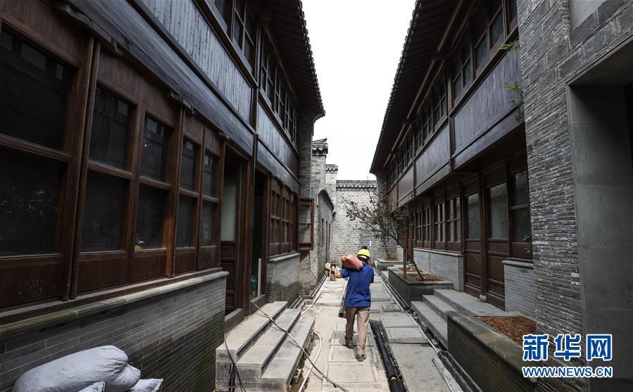 (走向我們的小康生活·圖文互動)(6)古都老街重生記——南京老城南的小康願景