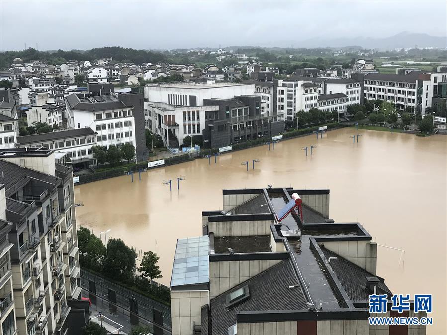 (環境)(1)安徽歙縣遭遇特大洪澇災害