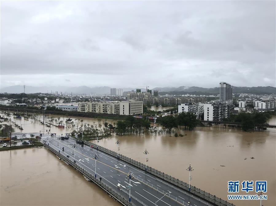 (環境)(2)安徽歙縣遭遇特大洪澇災害
